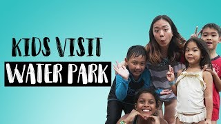 KIDS INVADE SAYS - Kids Experience Malaysia's Biggest Waterpark! | Presented by DCAWP