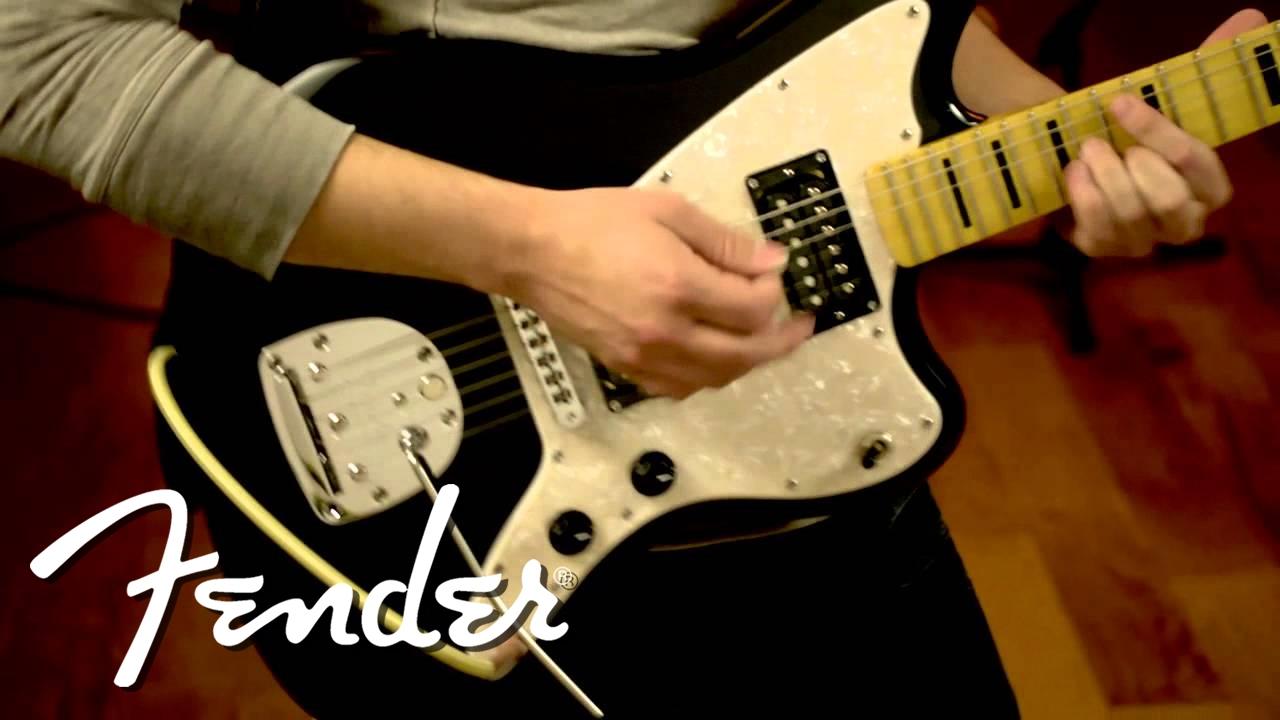 fender modern player jazzmaster hh demo youtube. Black Bedroom Furniture Sets. Home Design Ideas