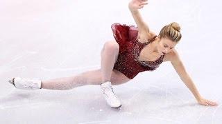 Skater makes Olympic team despite falls
