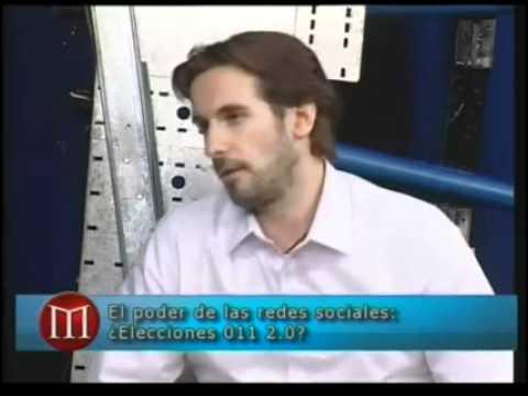Elecciones 2.0 en Argentina. Lucas Lanza en La Hora de Maquiavelo