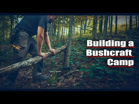 Alone in the Wild - Bushcraft Adventure - One With Nature