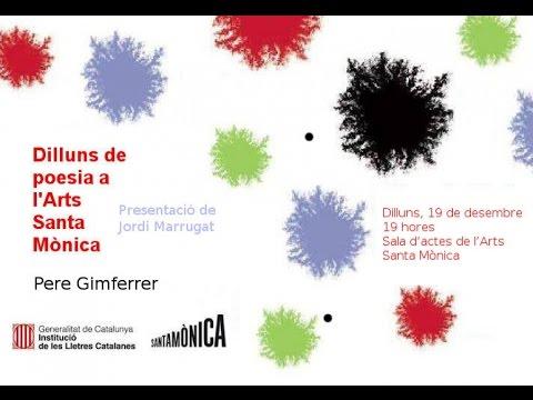 Dilluns de poesia a l'Arts Santa Mònica
