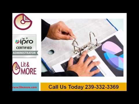 Document Imaging | Litigation Services | Lit & More