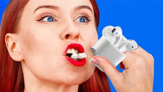UNEXPECTED FOOD HACKS YOU'LL LOVE! || Funny Food Pranks And Challenges by 123 Go! Live