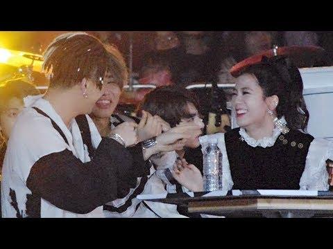 BLACKPINK x BIGBANG Interaction / Sweet Moments