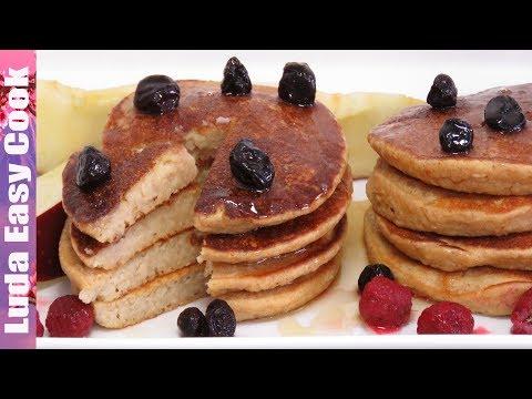 СУПЕР ПОЛЕЗНЫЙ ЗАВТРАК ОЛАДЬИ БЕЗ МУКИ С ЯБЛОКАМИ | HEALTHY PANCAKES NO FLOUR Apple Oatmeal Pancakes