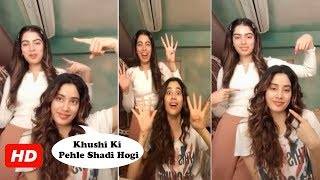 Khushi Kapoor wants to get married, have babies before her..