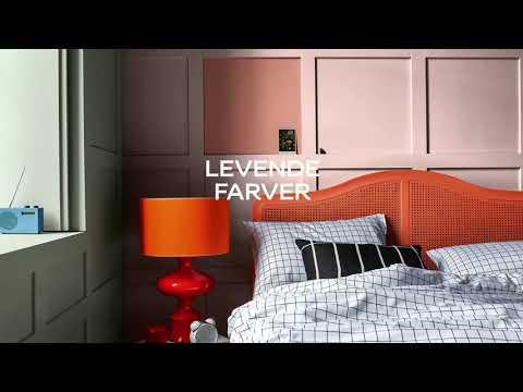 Årets farver 2020 i soveværelse - 1 bedroom 4 ways