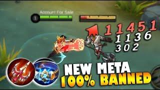 CHOU FULL DAMAGE NEW META BUILD 100% BANNED