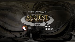 The Great Pyramid in 3D - 360° Video | ANCIENT INVISIBLE CITIES | PBS