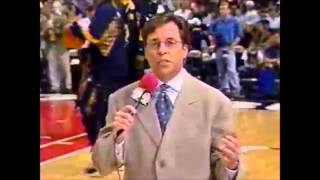NBA on NBC 1998 Bulls vs Pacers game 7 intro