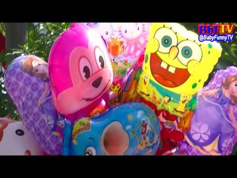 Balonku Ada Lima Versi Pengamen - Balon Karakter Masha, Boboiboy, Doraemon, Ipin Upin