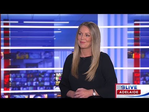 Tammy on 9 News Adelaide