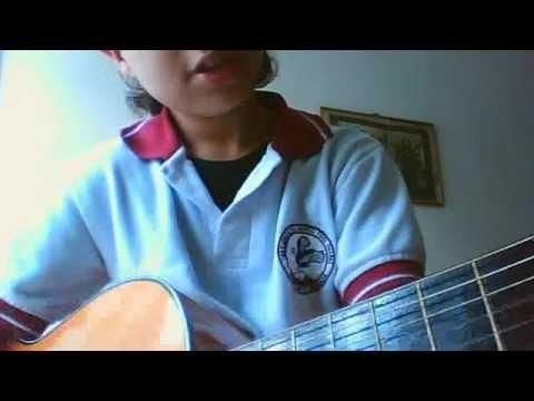 clases de guitarra (cancion muy facil) pantera rosa