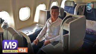 [M9] #34: Bay hạng thương gia Malaysia Airlines sao mà thích thế! | Yêu Máy Bay