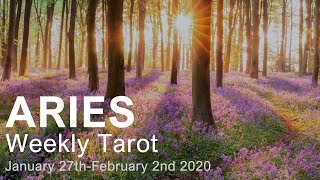 ARIES WEEKLY TAROT