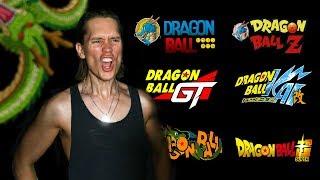ALL DRAGON BALL OPENINGS (1986 - 2018) DB, DBZ, GT, Kai & Super