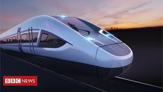 HS2 work officially begins with jobs pledge  - BBC News