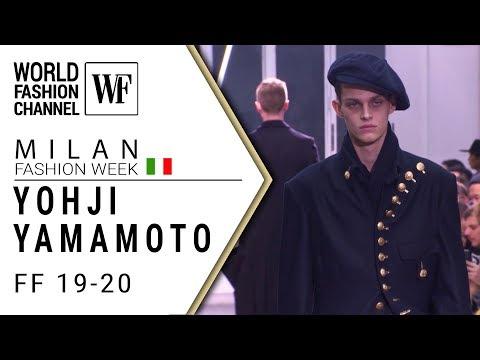 Yohji Yamamoto | Fall-winter 19-20 Paris men's fashion week