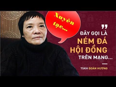 Tiến sĩ Đoàn Hương: Họ xuyên tạc các phát ngôn của tôi - News Tube