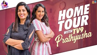 Himaja home tour with TV9 Prathyusha, watch..