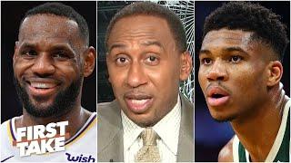 First Take debates the 2019-20 NBA MVP: LeBron or Giannis?