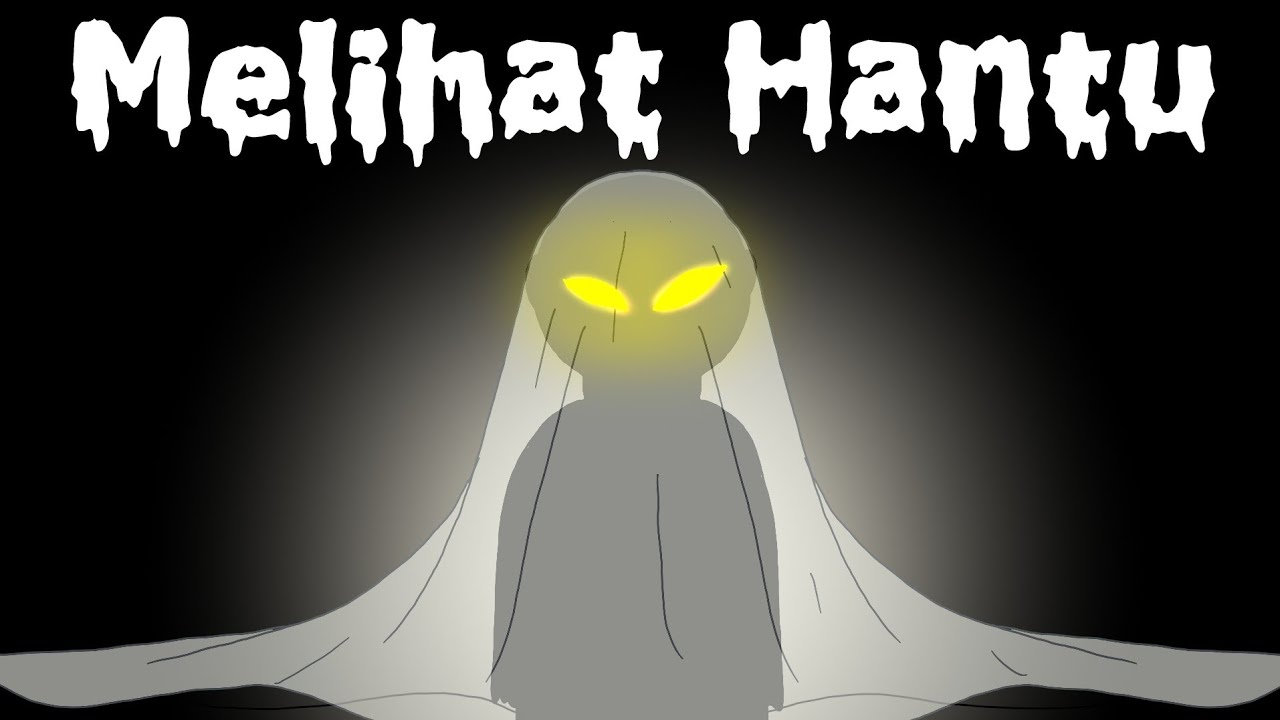 Hantu Kok Main Bola Bekel Animasi Hantu Horor Lucu