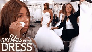 Bride Gets Self Conscious When She Doesn't Fit in the Sample Size | Say Yes To The Dress UK