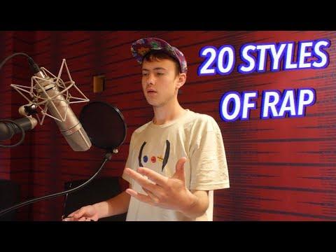 20 Styles of Rapping! (LOGIC, XXXTENTACION, 6IX9INE & MORE)