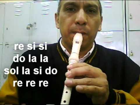 tres primeras canciones para la flauta