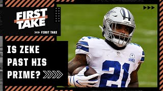 Is Ezekiel Elliott past his prime for the Cowboys?   First Take