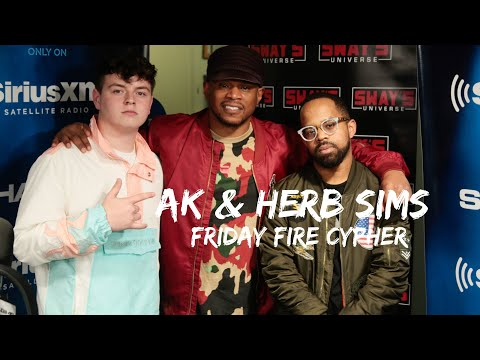 Friday Fire Cypher: Herb Sims and AK Trade Bars in Round 2