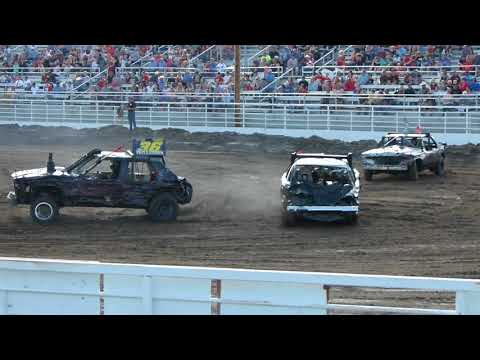 Valentine Demolition Derby 2018 Heat 1
