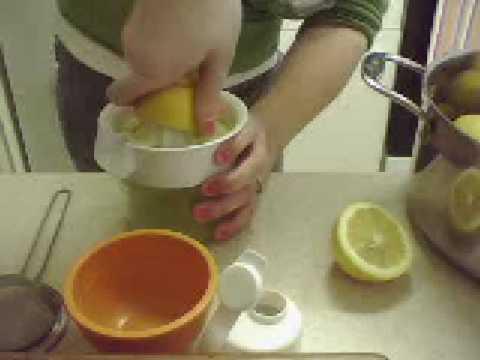 how to make cranberry lemonade detox