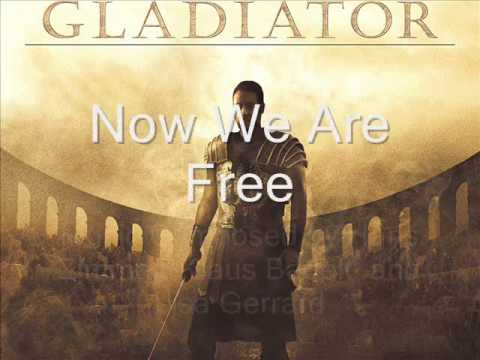 """""""Gladiator"""" - Music From The Motion Picture : Now We Are Free"""