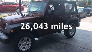 2008 Jeep Wrangler X for sale in SMYRNA, DE