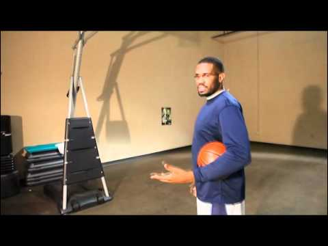 Professional Basketball Player and His Daily Warm Up Routine
