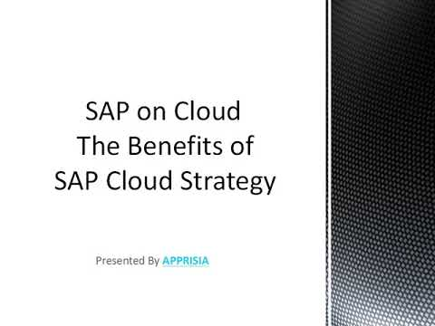 Get the Robust SAP Cloud Strategy for Businesses from Apprisia
