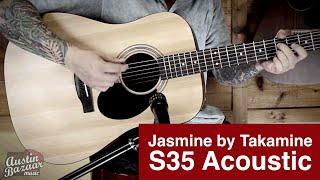 Jasmine S35 Acoustic Guitar Demo