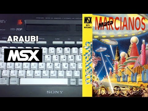 Matamarcianos (Manhattan Transfer, 1986) MSX [542] Walkthrough