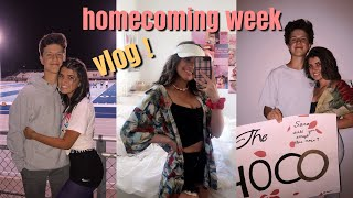 homecoming week vlog ~ dress up days, football game, getting asked