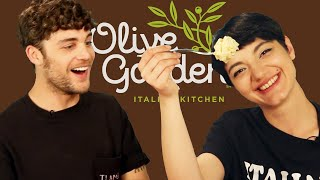 Italians Try Pasta From Olive Garden