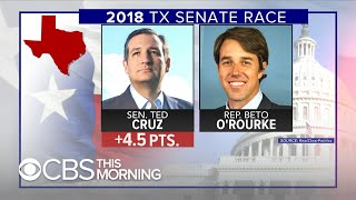 Ted Cruz and Beto O'Rourke face off in tight Texas race