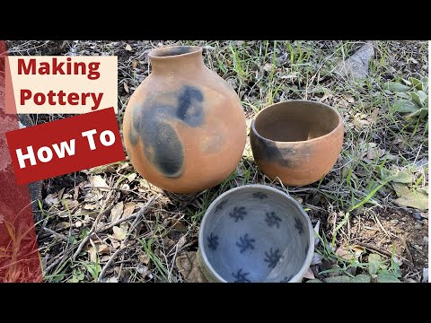 Making Primitive Pottery, a Short Preview