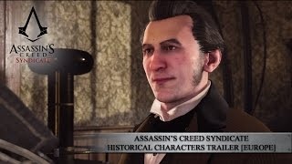 Assassin's Creed Syndicate - Historical Characters Trailer