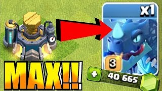 """ELECTRIC DRAGON MAX!! """"Clash Of Clans"""" NEW UPDATE"""