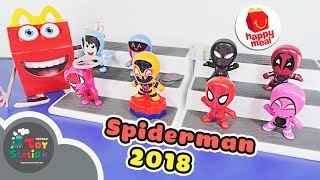 Happy Meal chủ đề Spiderman Into The Spiderverse tháng 12 ToyStation 298