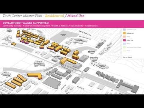 Town Center Master Plan: Residential