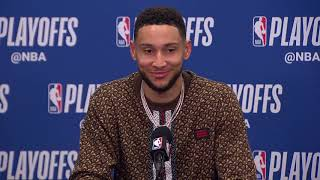 Ben Simmons Postgame Interview - Game 6 | Raptors vs 76ers | 2019 NBA Playoffs