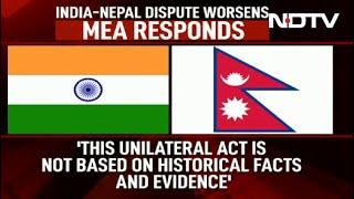India won't accept Nepal's artificial enlargement of terri..